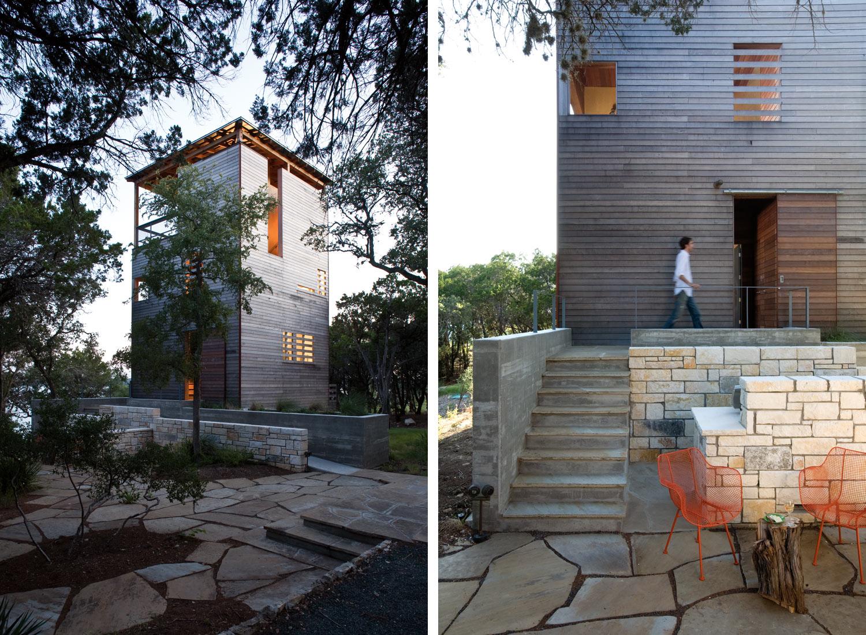 Modern townhouse cabin