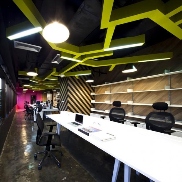 Saatchi & Saatchi Kontor i Bangkok - Sköna Hus Inspiration
