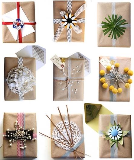 Paket med dekorationer