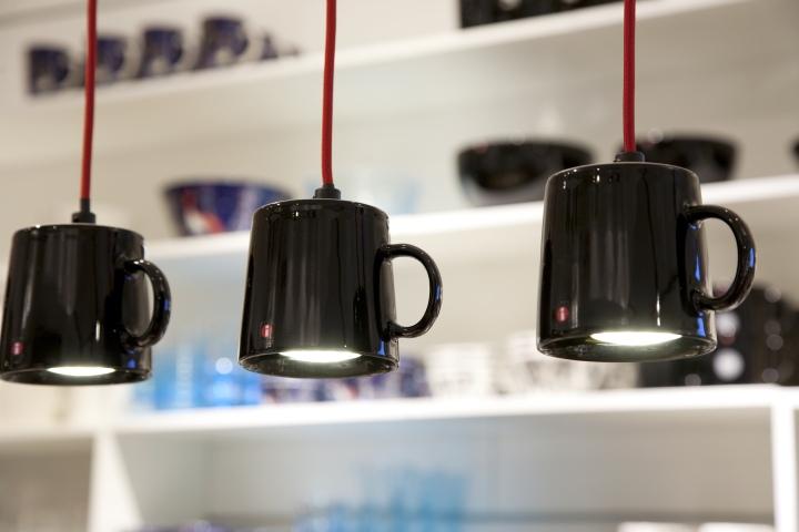 Iittala flagship store by Pentagon Design Helsinki Finland