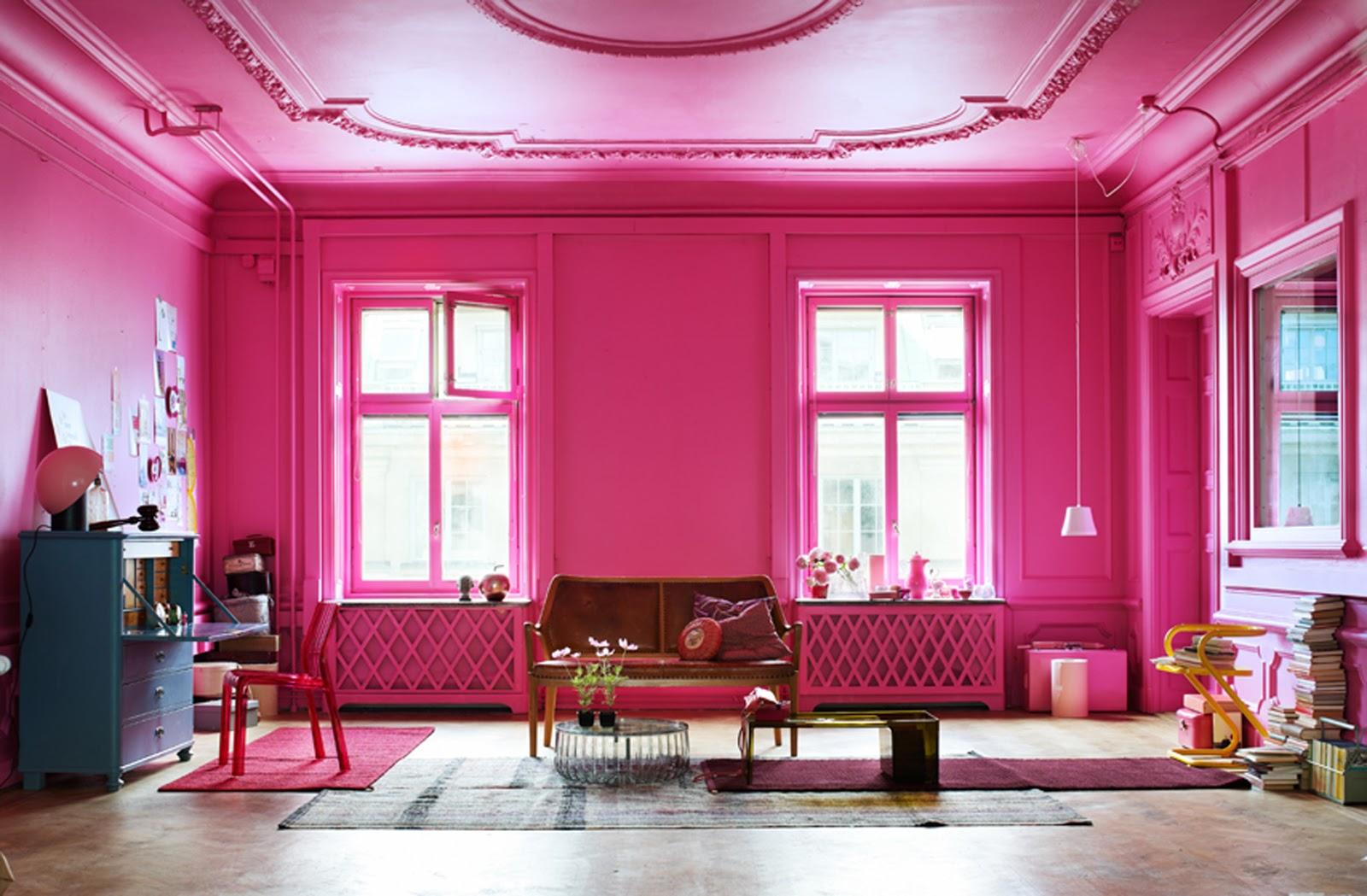 Fokus på färg: Rosa