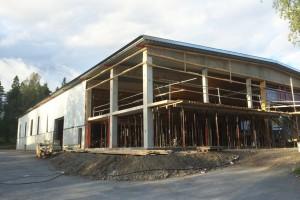 Nya husfabriken snart klar!