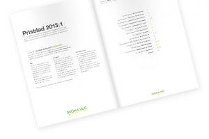 Bildsatt prisblad 2013 - nu även på webben